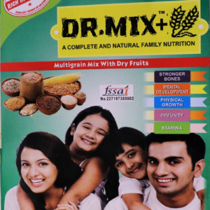 Dr.Mix+ Natural and Complete Family Nutrition Multigrain Mix with Dry Fruits |250 Gram | Mix with Dry Fruits