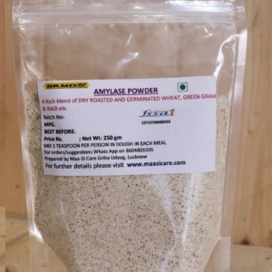 AMYLASE POWDER-A nutrition packed blend of wheat, ragi and green gram whole beans.
