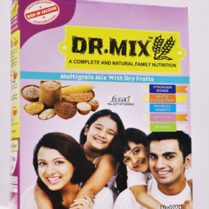 DR.MIX Complete and Natural Family Nutrition Multigrain Mix with Dry Fruits |250 Gram | Dry Fruits Mix