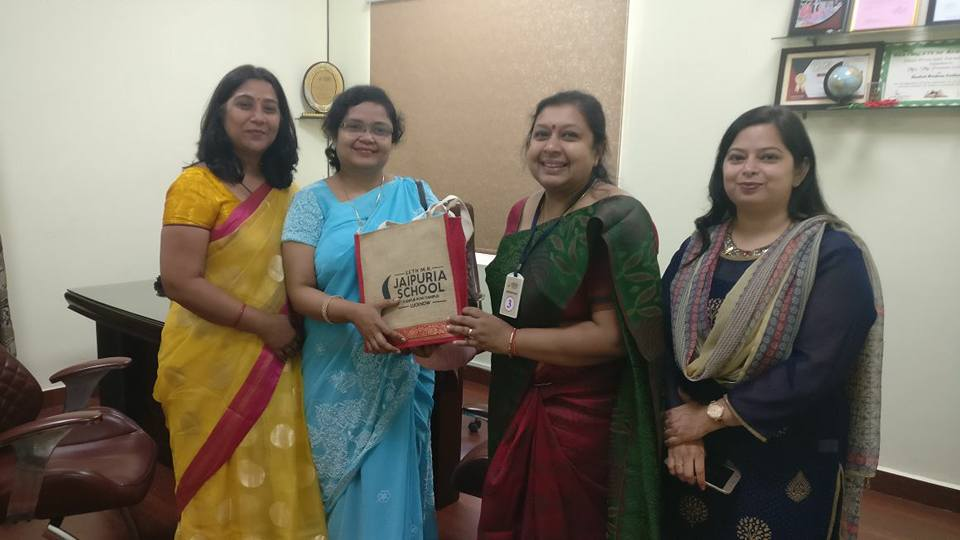 Received token of gratitude for conducting a health awareness session for parents