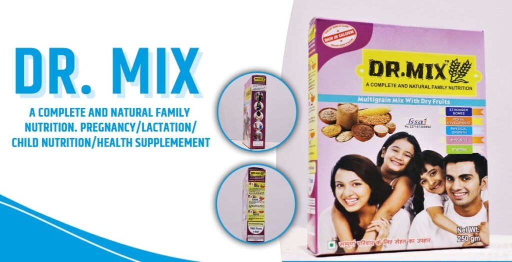 Dr. Mix: A Complete & Natural Family Nutrition