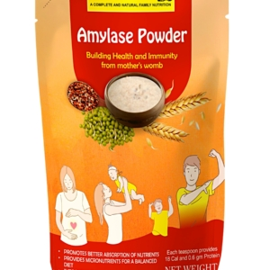 DR. Mix Amylase Powder | Increase Absorption of Nutrients | Decreases Thickness of Food