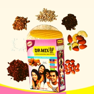 Dr. Mix Multigrain Mix with Dry Fruits | Natural and Complete Family Nutrition | (WITH SUCROSE)