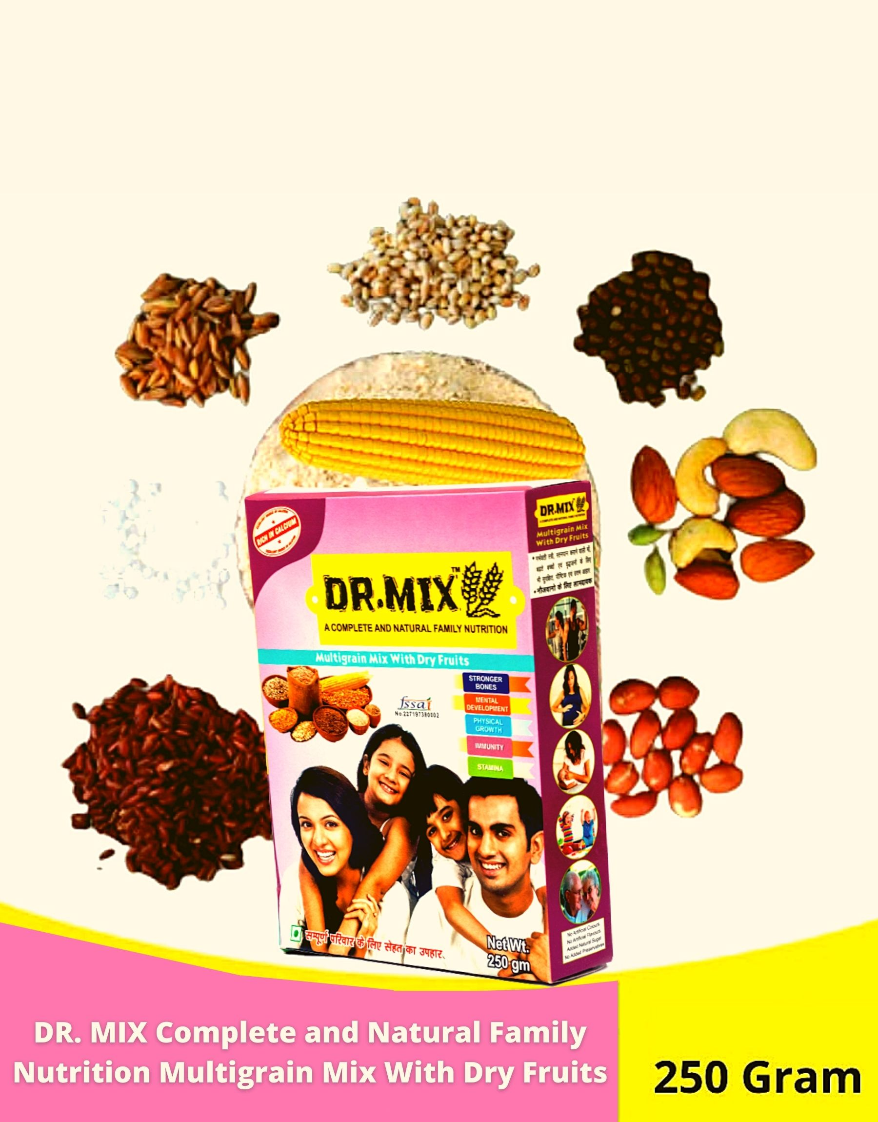 Dr. Mix Multigrain Mix with Dry Fruits